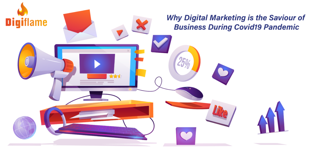 Why Digital Marketing is the Saviour of Business During Covid19 Pandemic